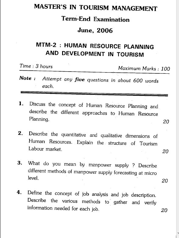 qualitative dimensions of human resource planning