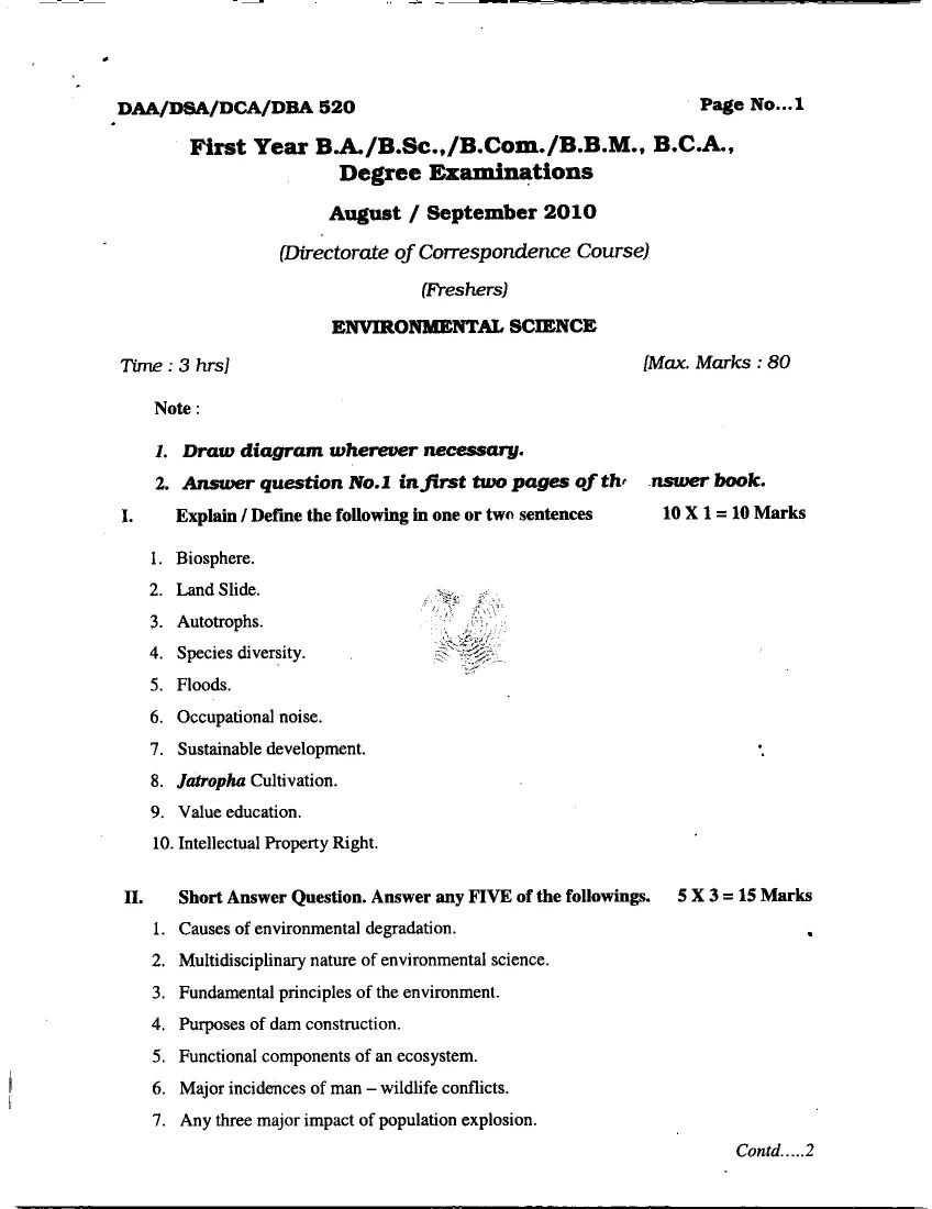 Environmental Science Essays Personal Essay Samples For College  Environmental Science Essays Science Essay Questions Environmental