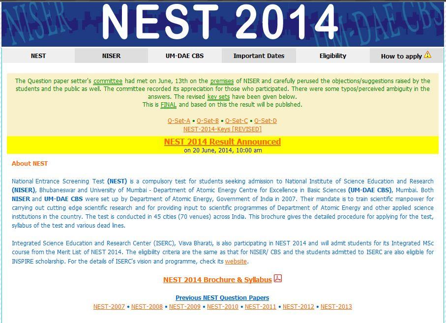 nest last date