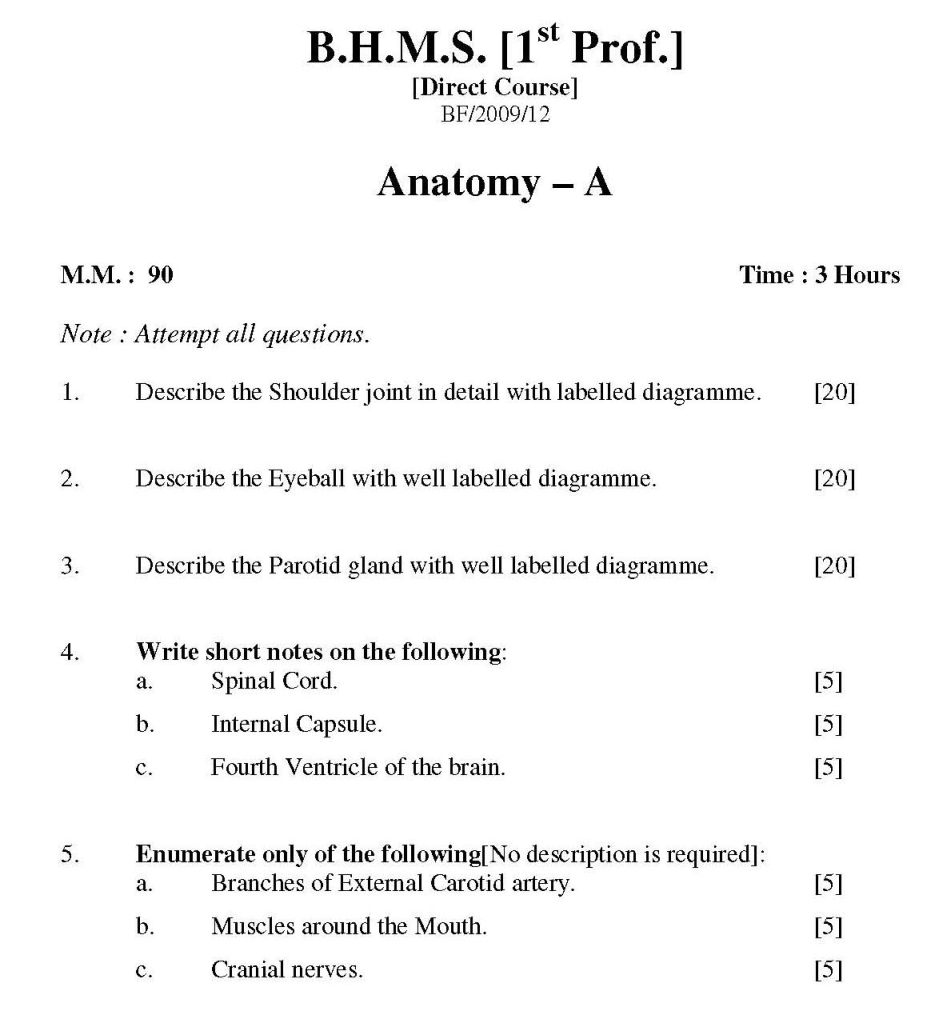 anatomy and physiology test papers body anatomy human anatomy and physiology 2016 pharmacy d pharm part 1