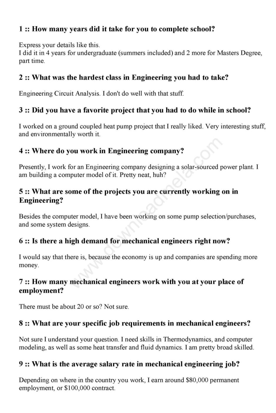 Research papers in mechanical engineering pdf