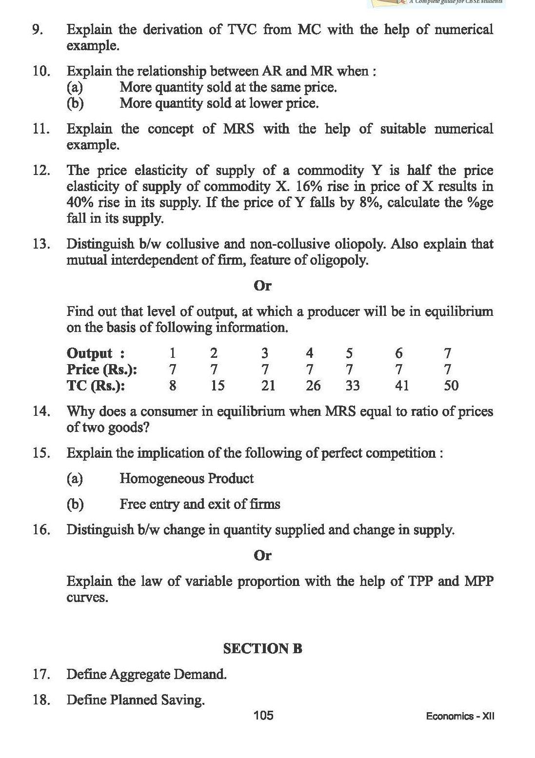 Help with Economics paper?