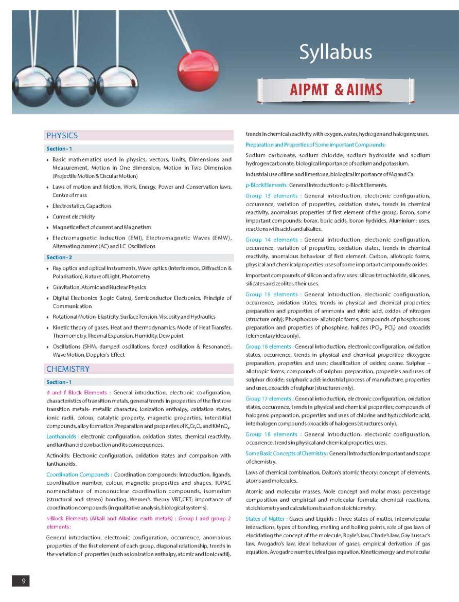 allen test series for medical