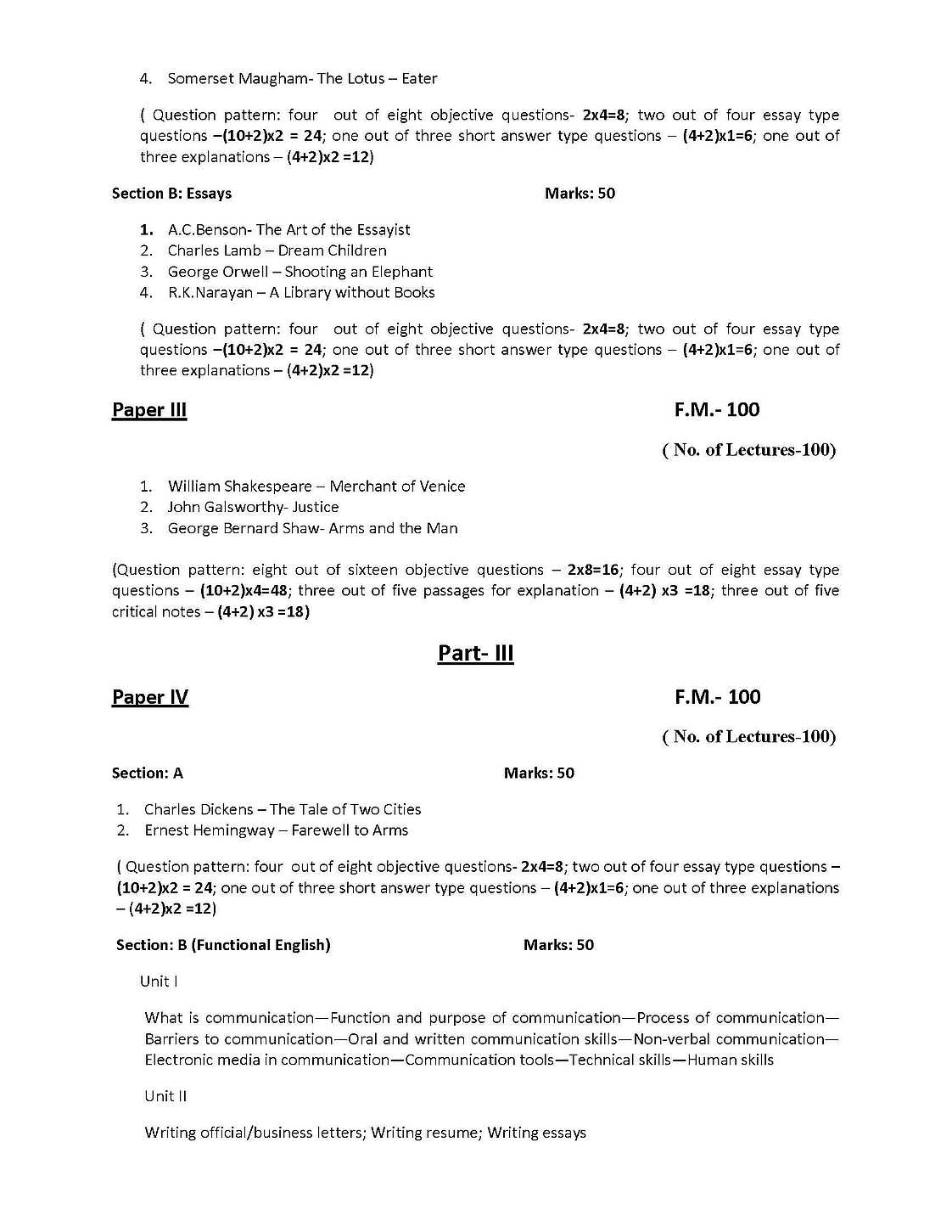 english pass syllabus of burdwan university eduvark burdwan university ba english syllabus