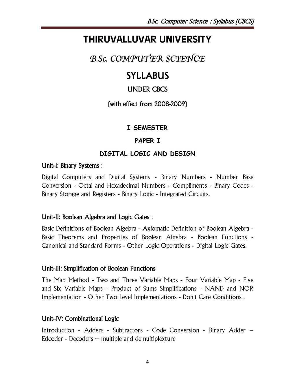 Top 12 Thiruvalluvar University Bsc Maths Syllabus 2018 Pdf
