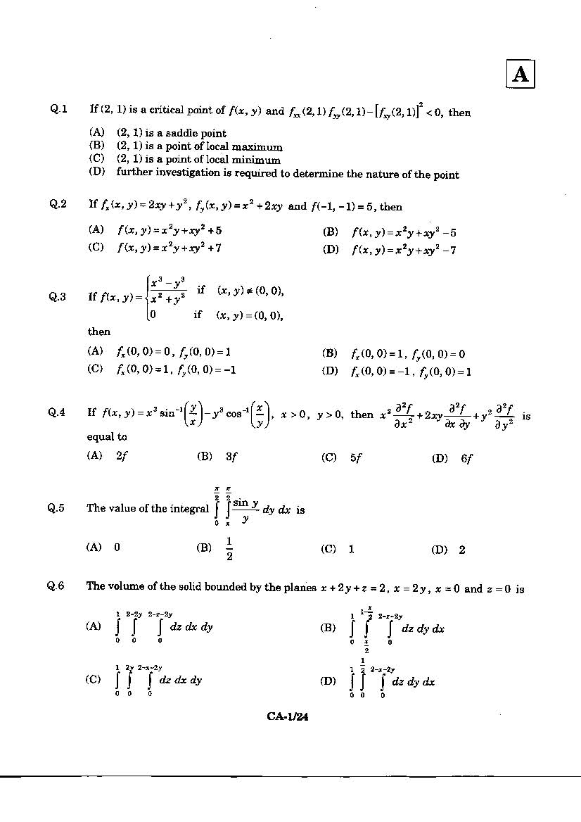 Iit jam 2017 question paper with answers all 'bout chemistry.