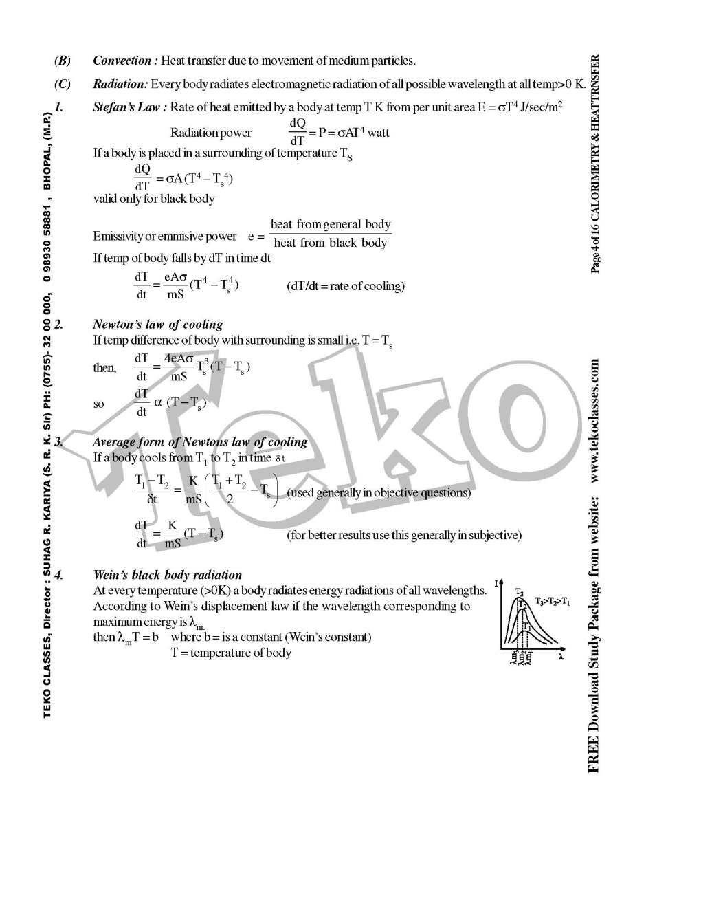 Physics Notes for IIT JEE Free Download - 2018 2019 EduVark