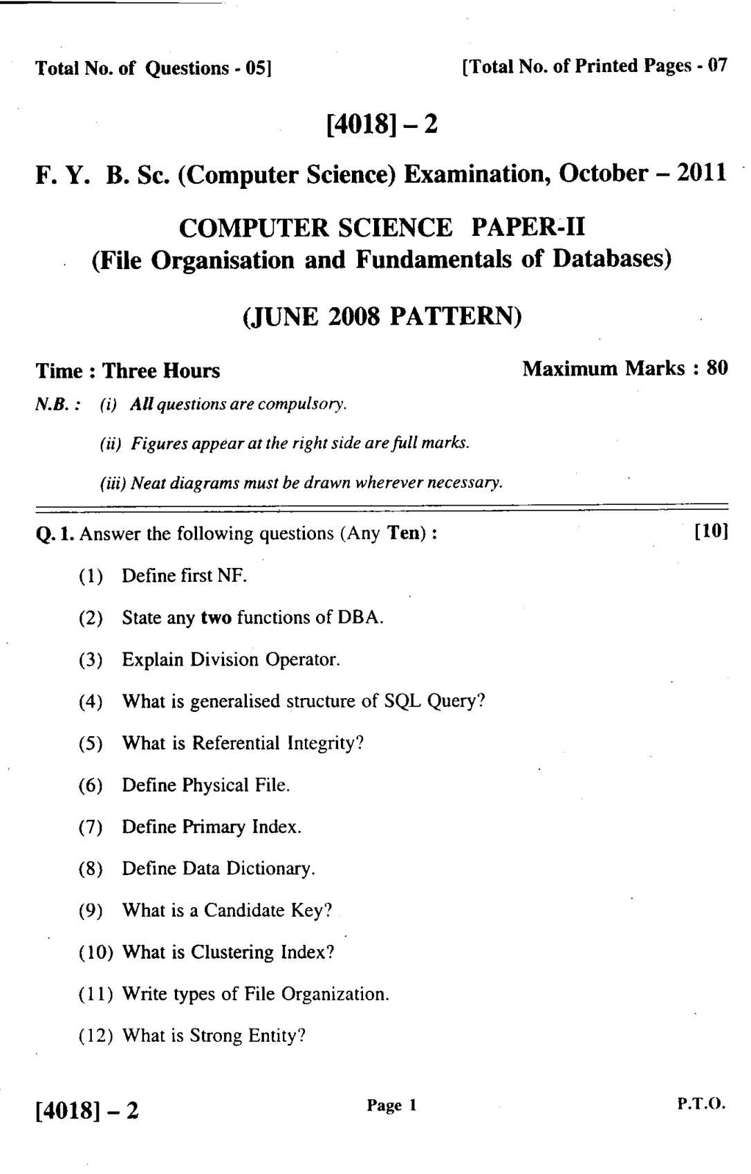 pune university solved question papers of fy bcs eduvark pune university fy bsc computer science paper introduction to c
