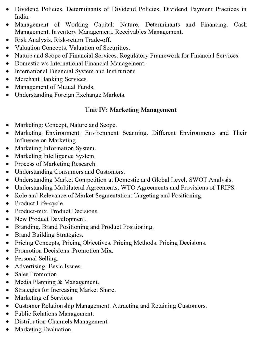 Syllabus for phd course work in management buy projects for college