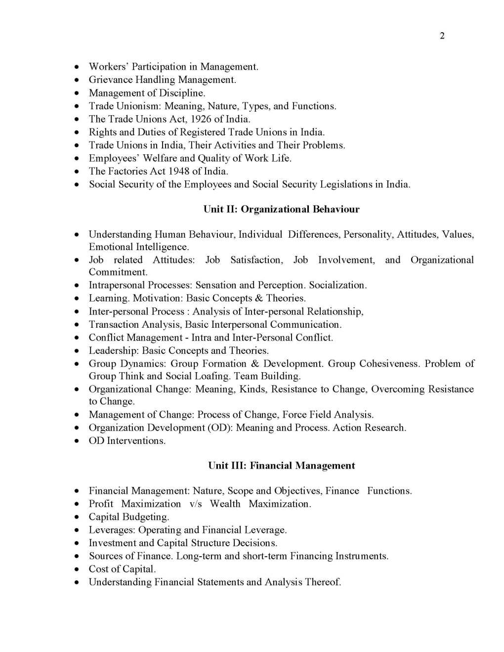 Phd coursework syllabus for computer science