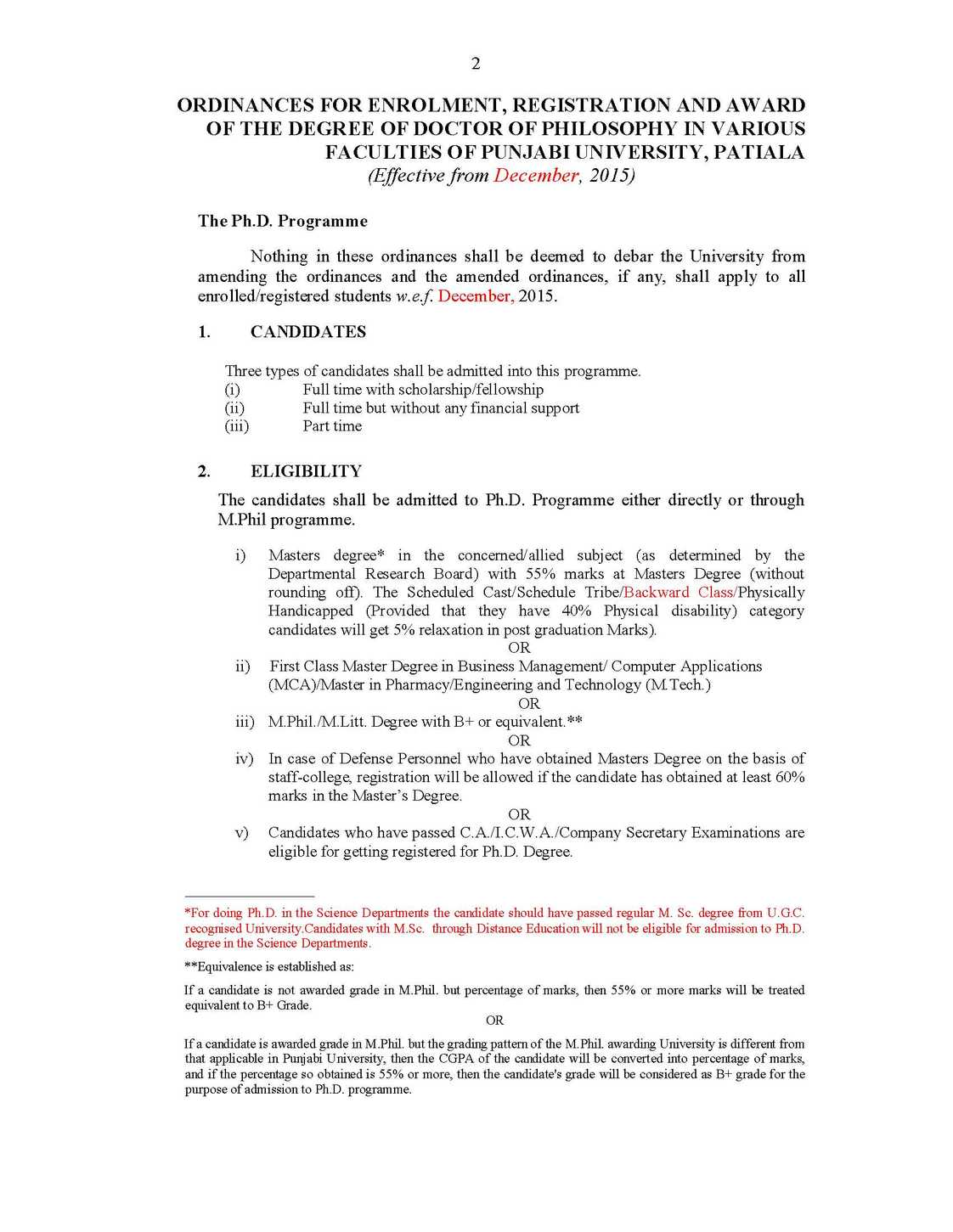 punjabi university patiala thesis format