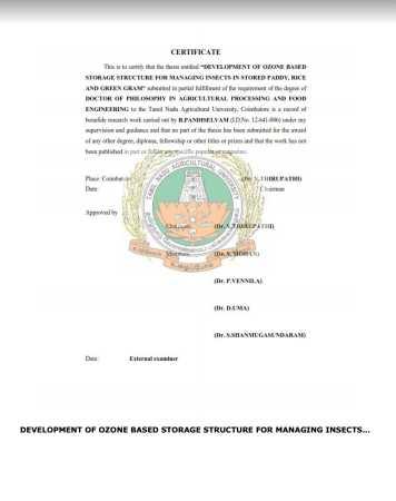 tnau phd thesis