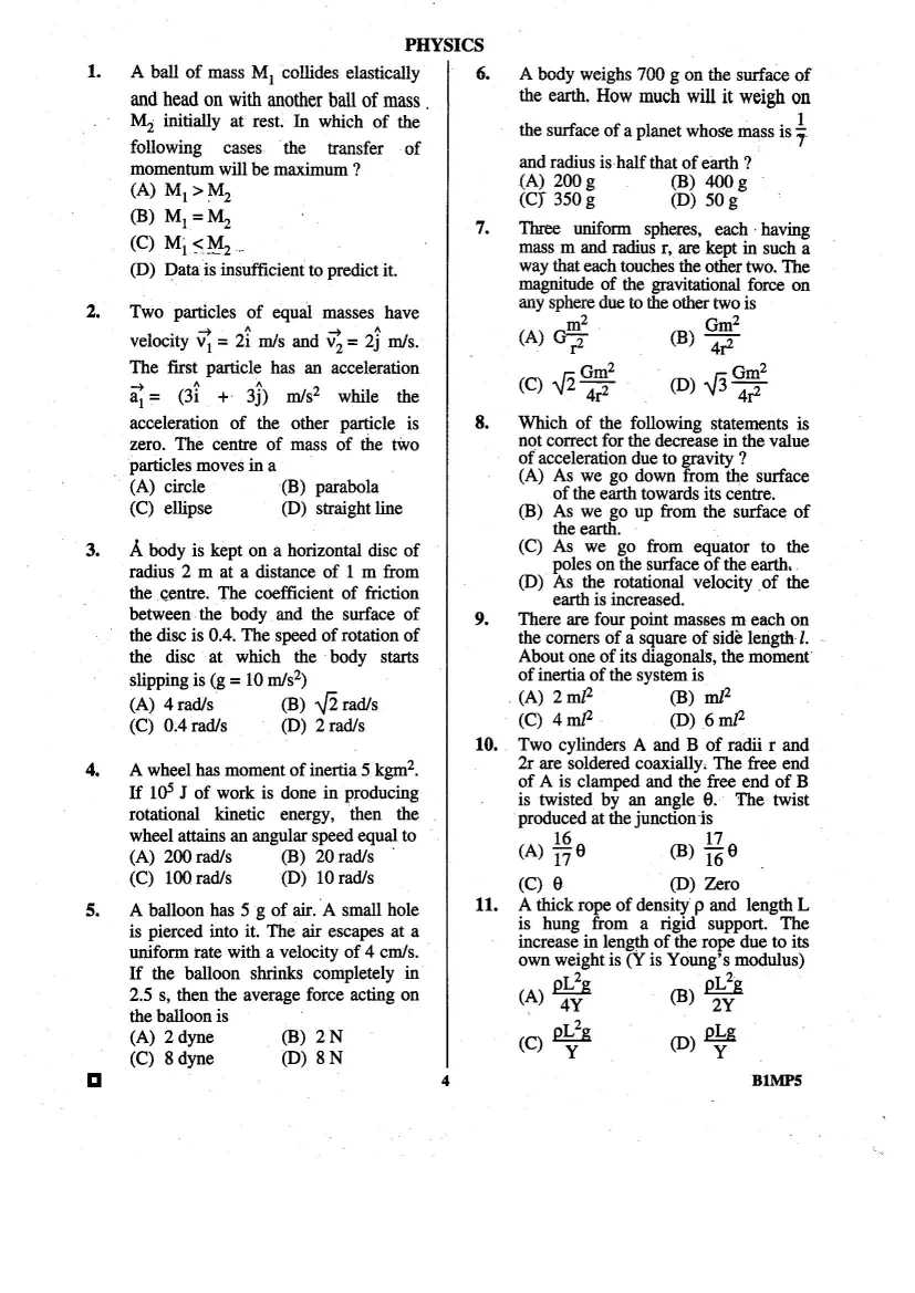 Bcece Previous Year Question Paper Pdf