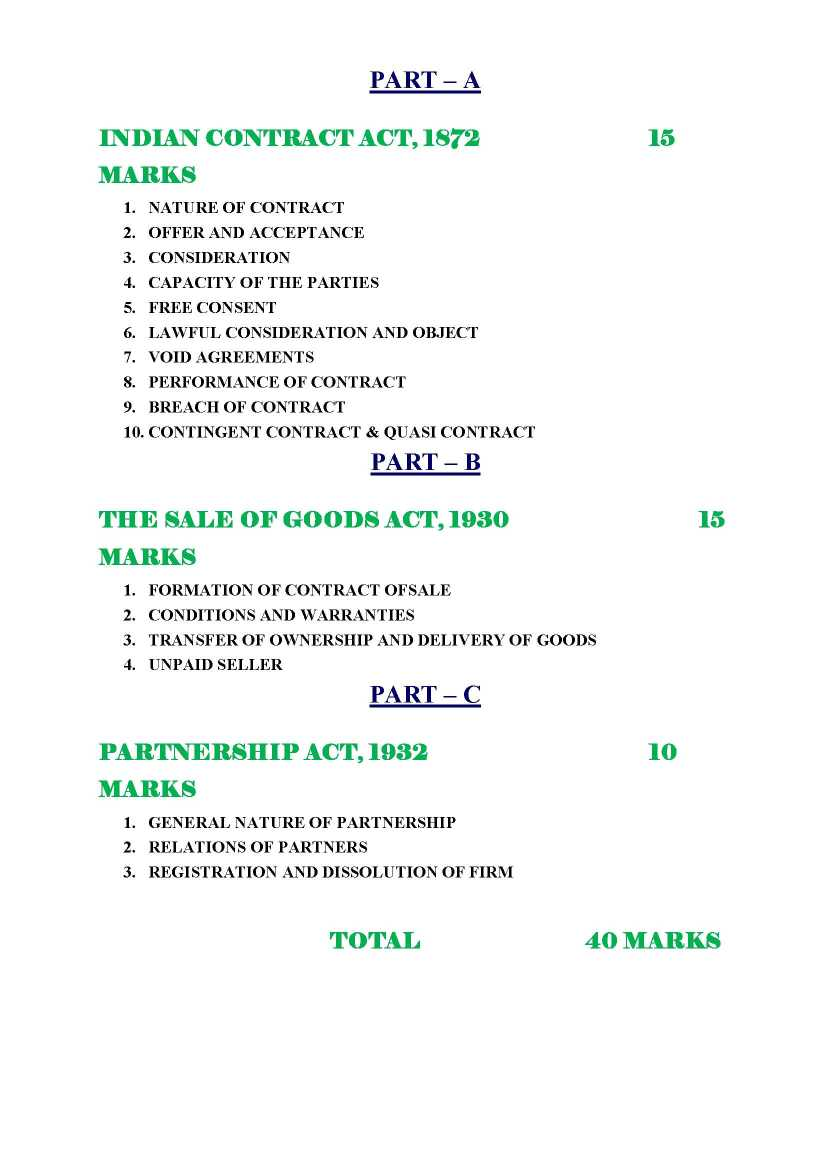 Partnership law notes pdf