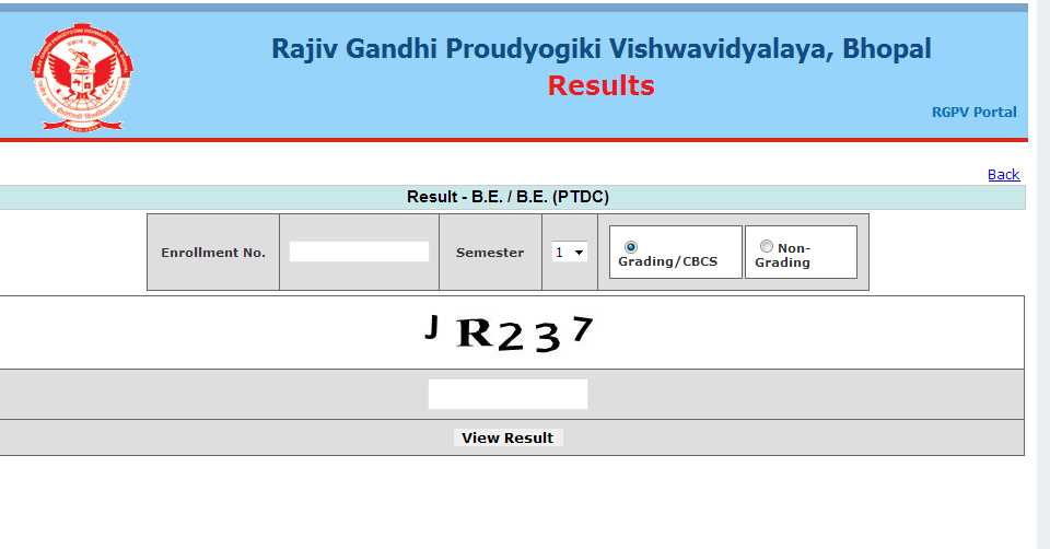 RGPV Admit Card B Tech - 2018 2019 EduVark